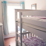 Bunk beds in Flint Cottage.