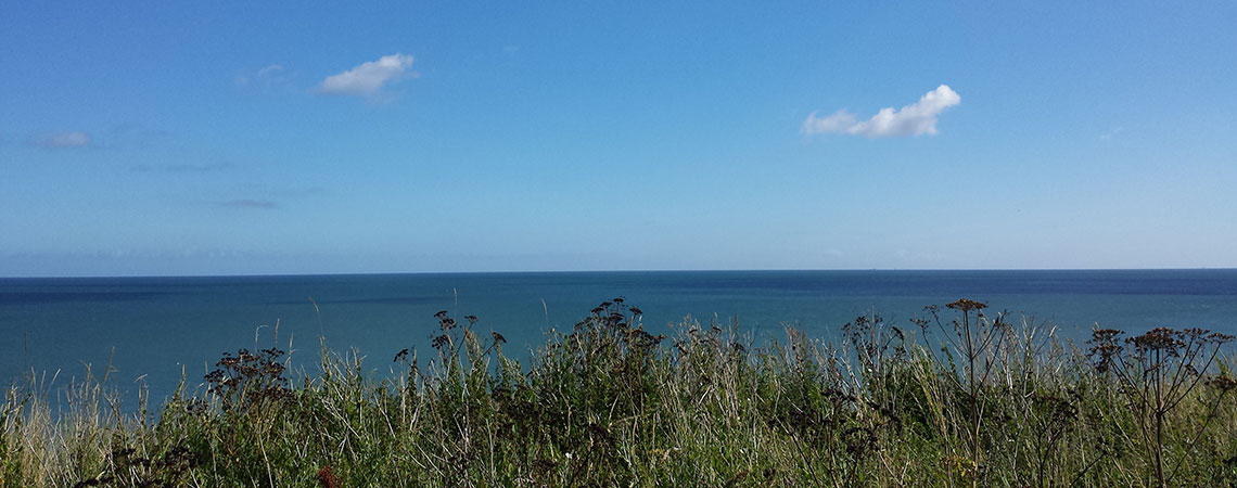 North Norfolk sea view.